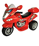 #2: Hlx-Nmc Battery Operated Fun Bike Red