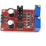 DealMux NE555 Ciclo / frecuencia ajustable eléctrica plaza de módulo / rectangular Wave