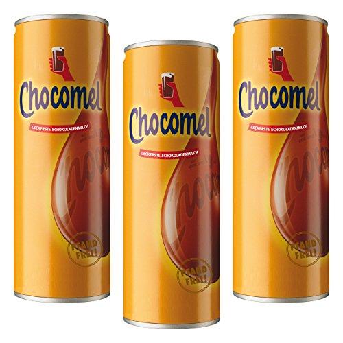 Chocomel Kakao Dose, 3er Set, Trinkschokolade, Holland Schoko, Trink Schokolade, 250 ml
