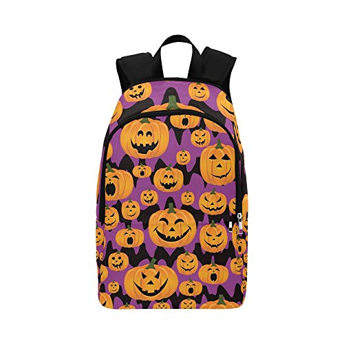 Abstrakte Nahtlose Muster Girlsboys Kinder Halloween lässig Daypack Reisetasche College School Rucksack für Männer und Frauen