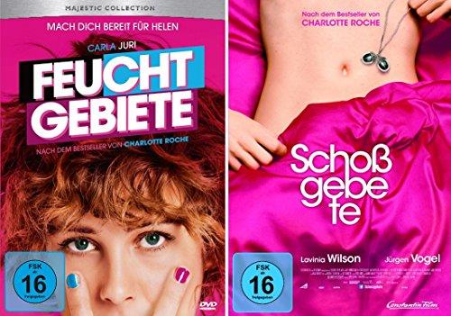 Charlotte Roche Doppel-Pack: Feuchtgebiete und Schoßgebete im Set - Deutsche Originalware [2 DVDs]
