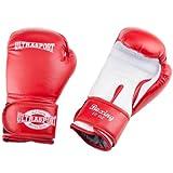 Ultrasport Boxhandschuhe, Rot/Weiß, 12 oz, 331500000017