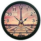meSleep Love Paris Wall Clock (With Glas...