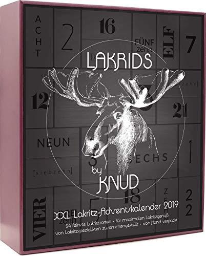 Lakrids by Knud - Lakritz Adventskalender mit 1200 g