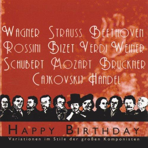 Happy Birthday (Stil Strauss 2)