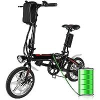 mymotto Mini 14 Pouces Pliant 500 W Vélo Électrique avec 36 V 8000m Ah Batterie Lithium-ION, Max Charge 200 KG