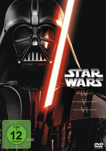 Star Wars - Trilogie, Episode IV-VI [3 DVDs] (Zurück Ferse)