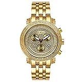 Joe Rodeo Diamond Men's Watch - CLASSIC gold 3.5 ctw