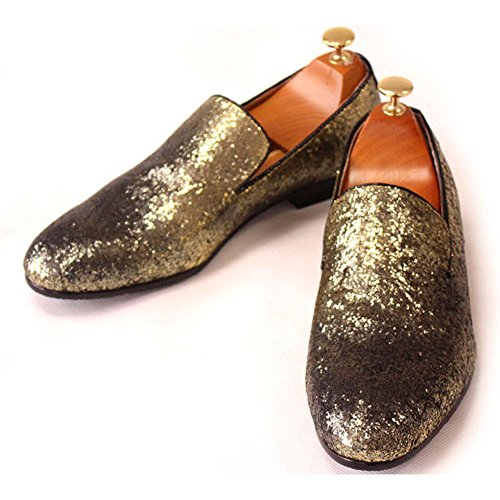 Fulinken , Chaussures à lacets homme Or - doré