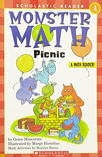 Scholastic Reader Level 1: Monster Math Picnic (Hello Reader Math)