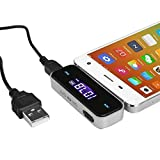 3,5mm Freisprechanlage Fürs Auto Wireless Transmitter FM Adapter Radio für iPod/für iPhone 3G/3GS/4/für Galaxy
