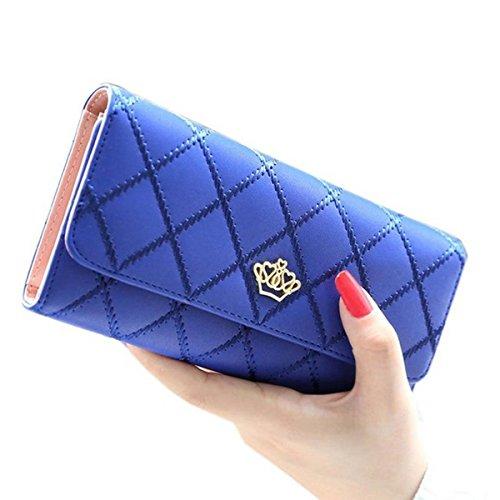 jastorer-elegant-lady-women-clutch-crown-wallet-long-purse-leather-wallet-royal-blue