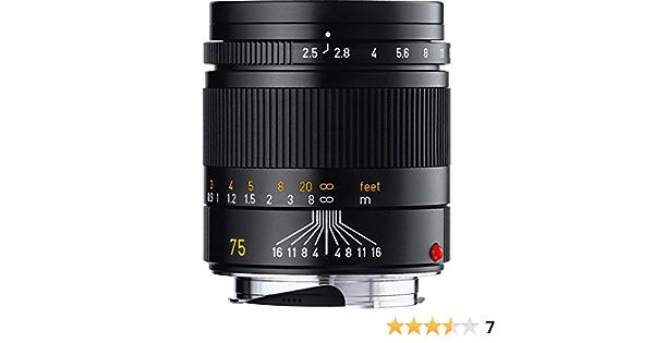 Leica M 75 2 5 Summarit Black Camera Photo