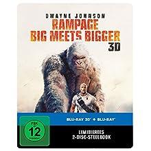 Rampage: Big Meets Bigger 3D Steelbook (exklusiv bei Amazon.de) [3D Blu-ray] [Limited Edition]