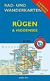 Rad- und Wanderkarten-Set: Rügen & Hiddensee: Mit den Karten: 'Wittow, Kap Arkona', 'Halbinsel Jasmund', 'Bergen, Putbus', 'Mönchgut, Granitz, bis ... 1:30.000. Wasser- und reißfeste Karten.