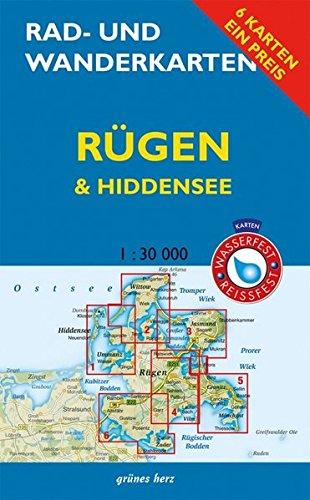 Rad- und Wanderkarten-Set: Rügen & Hiddensee: Mit den Karten: