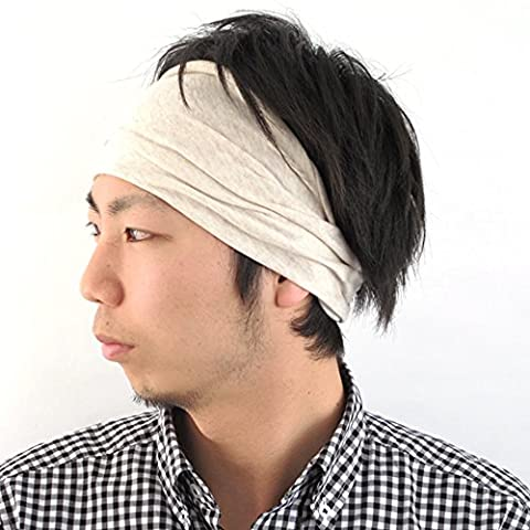 Casualbox Women Made in Japan HeadBand Hair band Organic Cotton Skin Cream