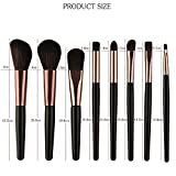 25pcs Make-up Pinsel Set, Foundation Lidschatten Eyeliner Lipgloss Make-up Pinsel IFOUNDYOU