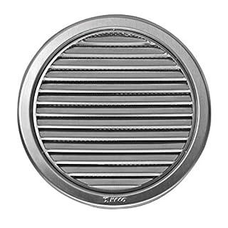 Grid for Ventilation System 125mm Diameter (12.7cm, Circular, Stainless Steel)