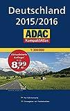 ADAC KompaktAtlas Deutschland 2015/2016 1:300 000 (ADAC Atlanten)