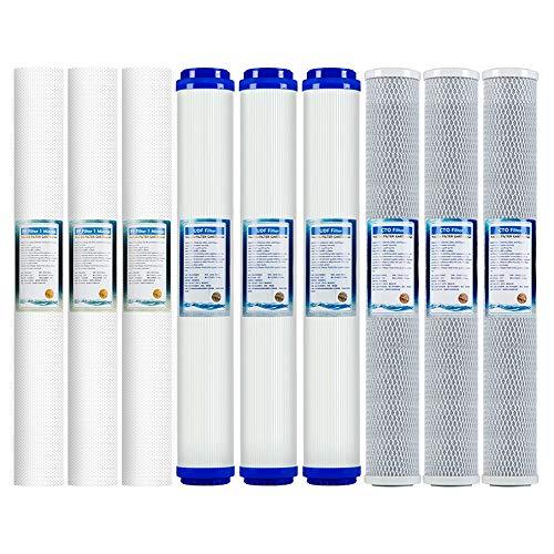 RO sistema di filtraggio acqua ad osmosi inversa per sottotop standard 508