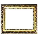 Barockrahmen gold fein verziert 840 ORO, Leerrahmen 40x50 cm