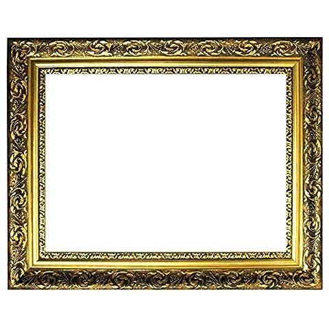 Cadre 60x90 - Baroque or cadre finement décoré 840 ORO,