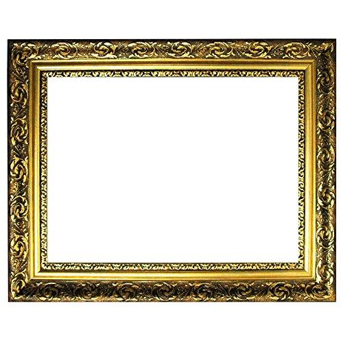 Barockrahmen Gold Fein Verziert 840 ORO, 60x80 als Leerrahmen