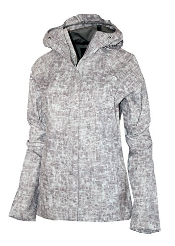 The North Face Women's Novelty Venture Full Zip Hooded Waterproof Rain Jacket (Quail, S) (Rain Jacket Venture)