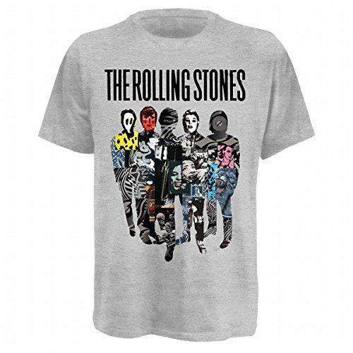 Bravado Rolling Stones,The - Silhouette Collage 0921314 Unisex - Erwachsene Shirts/ T-Shir Preisvergleich