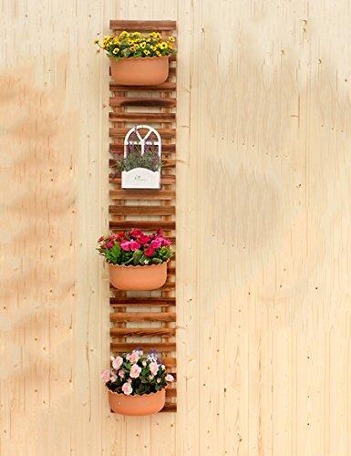 Taille : 25 * 17 * 78cm FZN Balcon /étag/ère Murale Salon Fleur aneth Vert windowsill Plantes suspendues araign/ée Cadre de Plusieurs Couches Plantes Grasses Pots de Fleurs