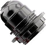 CucinaGood Edison Schraube ES E27 Glühbirne Lampe Halter Anhänger Sockelschwarz Stil