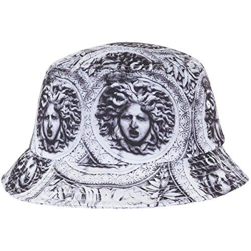 Flexfit Sun King Bucket Hat Mützen, Blk/Wht, one Size