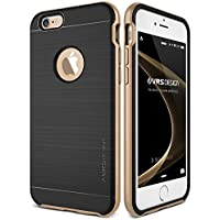 iPhone 6/6S Case, VRS Design® [Gold] Slim Fit Shockproof Dual Protective Cover [High Pro Shield] Premium TPU with PC Bumper Heavy Duty Protection Hybrid Phone Case for Apple iPhone 6 (2014)/6S (2015)