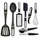 KitchenAid 7-teilig Essential Werkzeug und Gadget Set, schwarz