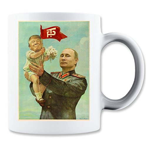 Putin With Trump Kid Retro Klassische Teetasse Kaffeetasse