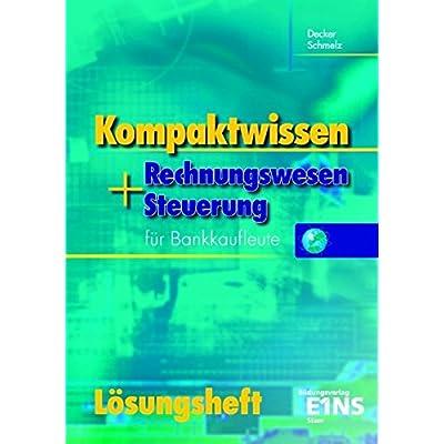 Pdf Kompaktwissen Rechnungswesen Und Steuerung Für Bankkaufleute