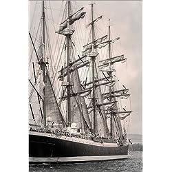 """Cuadro de piratas decorativo """"Sailing ship"""", 120 x 180 cm."""
