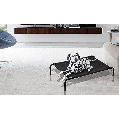 MWS2250 Cama para perros apta para interiores y exteriores (TALLA M - 105 x 76 x 20 cm)