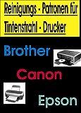 !!! Reinigungspatronen !!! 4 Reinigungspatronen kompatibel zu Brother LC1220 / LC1240 / LC1280 zur Druckkopfreinigung. Für Folgende Drucker : MFC 430 625 825 6510 6710 6910 MFC-j430W MFC-J625DW MFC-J825DW MFC-J6510DW MFC-J6710DW MFC-J6910DW / Brother DCP 525 725 925 DCP-J525W DCP-J725DW DCP-J925DW