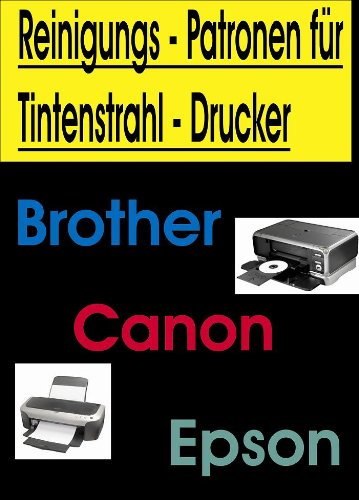 Preisvergleich Produktbild !!! Reinigungspatronen !!! 5 Chip Reinigungspatronen kompatibel zu Canon PGI-525 / CLI-526 zur Druckkopfreinigung.