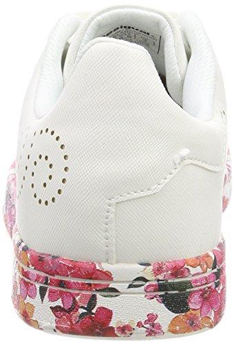 Desigual Damen Shoes_Cosmic Microrapport Sneaker Weiß (1000 Blanco)