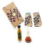 Reishunger Burrito Bowl Box (4-teilig, für bis zu 4 Personen) Original Zutaten für mexikanische Burrito Bowl – Perfekt als Geschenk