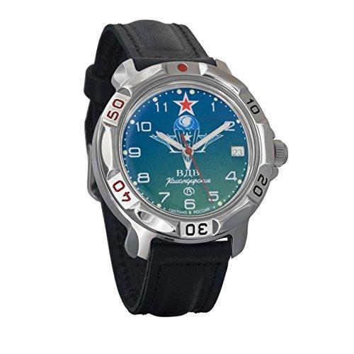 Vostok Komandirskie 2414811818militare russo VDV orologio meccanico