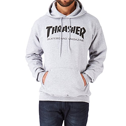 Trasher - Sudadera Capucha - Color Gris Heather -