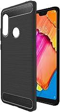 Amazon Brand - Solimo Redmi 6 Pro Protective Mobile Cover (Soft & Flexible Back Case), Black