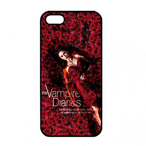 Apple iPhone 5(S), iPhone 5(S) Housse Coque, The Vampire Diaries Protéger, vampire diaries Elena Gilbert Nina Dobrev Belle Étui, coque iphone The Vampire Diaries