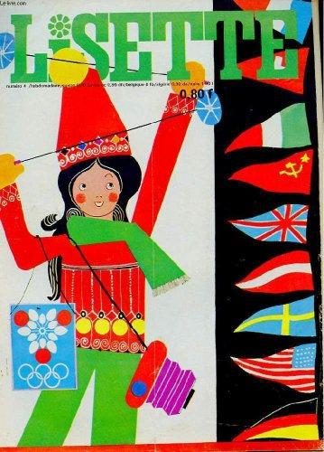 LISETTE. N°4. 28 JANVIER 1968. UNE ETOILE A BRILLE. LES GARCONS AU COLLEGE. SA MAJESTE DUBALAI. EMMANUELLE AUX JEUX OLYMPIQUES DE GRENOBLE.