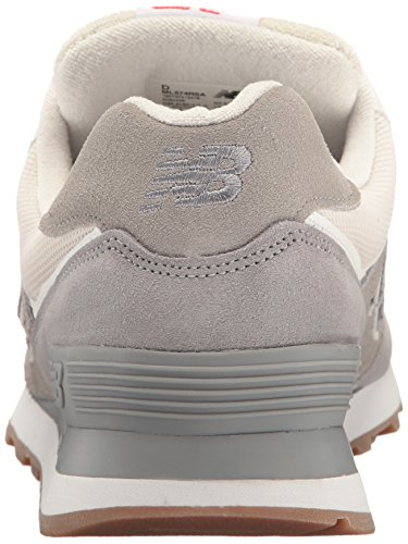 New Balance Ml574, Bottes Classiques Homme Steel/Silver Mink