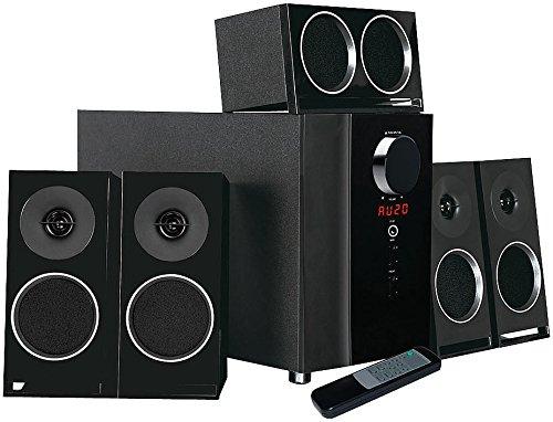 auvisio Surround System: PCM 5.1-Surround-Soundsystem, optischer Audio-Eingang, 200 Watt (5.1 Surround Sound System)